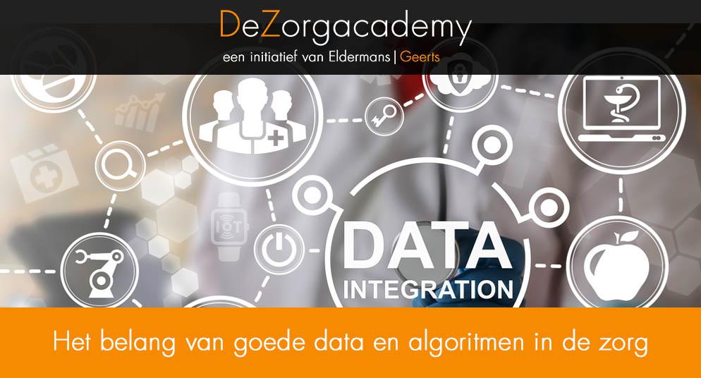 Het belang van goede data en algoritmen in de zorg